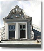 The Window Quebec City Metal Print