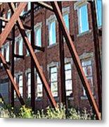 The Window Wall Metal Print by MJ Olsen