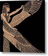 The Winged Isis Metal Print