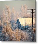 The Winter Country Metal Print