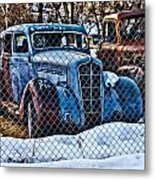 The Winter Of Existence Metal Print