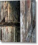 The Wood Shed Metal Print by JC Findley