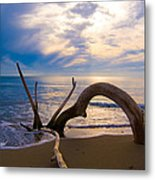 The Wooden Arch Metal Print
