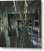 The World Under The Bridge  Metal Print