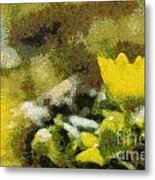 The Yellow Flower Metal Print