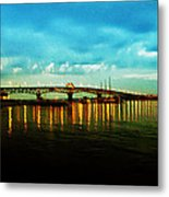 The York River Metal Print by Bill Cannon
