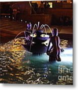 The Youth Fountain Metal Print