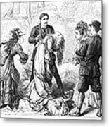 Theater: False Shame, 1872 Metal Print