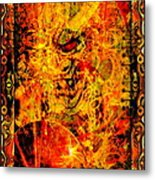 Then All Hell Broke Loose Metal Print