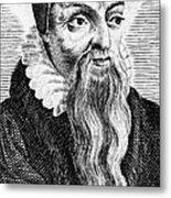 Theodore De B�ze (1519-1605) Metal Print