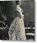 Theodore Roosevelts First Wife Alice Metal Print