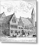 Theological Seminary, 1884 Metal Print