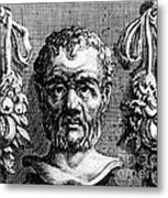 Theophrastus, Ancient Greek Polymath Metal Print