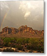 There's Gold At The End Of The Rainbow Metal Print