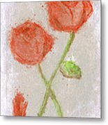 These Flowers Of Blood Metal Print