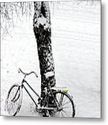 They Left Me Here Alone Metal Print