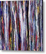 Thicket In Ice Metal Print