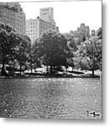 Things On The Water Metal Print