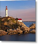 This Is British Columbia No.62 - Point Atkinson Lighthouse Point Metal Print