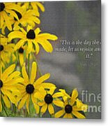 This Is The Day Metal Print