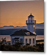 This Is Washington State No. 11 - Port Townsend Light House Metal Print