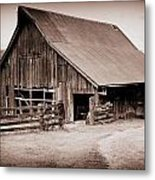 This Old Farm Metal Print