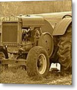 This Old Tractor Metal Print