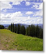 This Way To Eagle Nest - Vail Metal Print