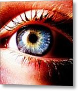 This Window To The Soul Metal Print