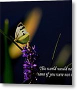 This World Metal Print