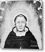 Thomas Aquinas, Italian Philosopher Metal Print by Science Source