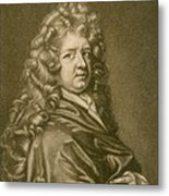 Thomas Betterton C. 1635-1710, Leading Metal Print