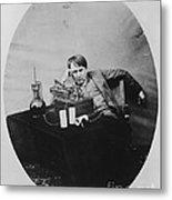 Thomas Edison, American Inventor Metal Print