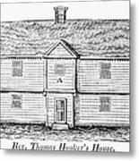 Thomas Hooker (1586-1647) Metal Print