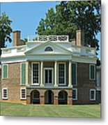 Thomas Jeffersons Poplar Forest Metal Print