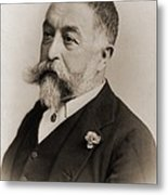 Thomas Nast 1840-1902, During His Later Metal Print by Everett