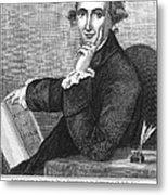 Thomas Paine (1737-1809) Metal Print