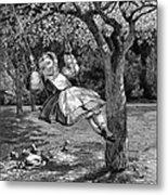 Thomas: The Swing, 1864 Metal Print
