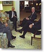 Three Former Presidents Gerald Ford Metal Print by Everett