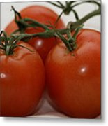 Three  Little Tomatoes Metal Print