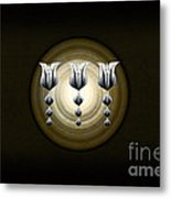 Three Tulips Metal Print
