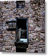 Three Windows Metal Print