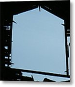 Through The Door Metal Print