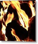 Through The Flame Metal Print