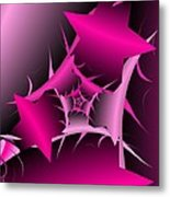 Through The Pain Metal Print