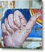 Thumbs Up Metal Print
