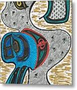 Thunder Goose Metal Print