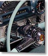 Thunderbird Steering Wheel Metal Print