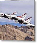 Thunderbirds Gear Up Metal Print