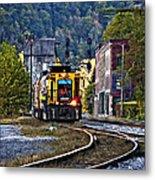 Thurmond Wv Train Metal Print
